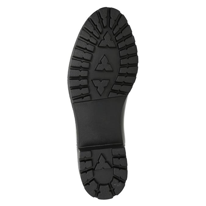 Lakované dámské holínky bata, černá, 592-6400 - 17