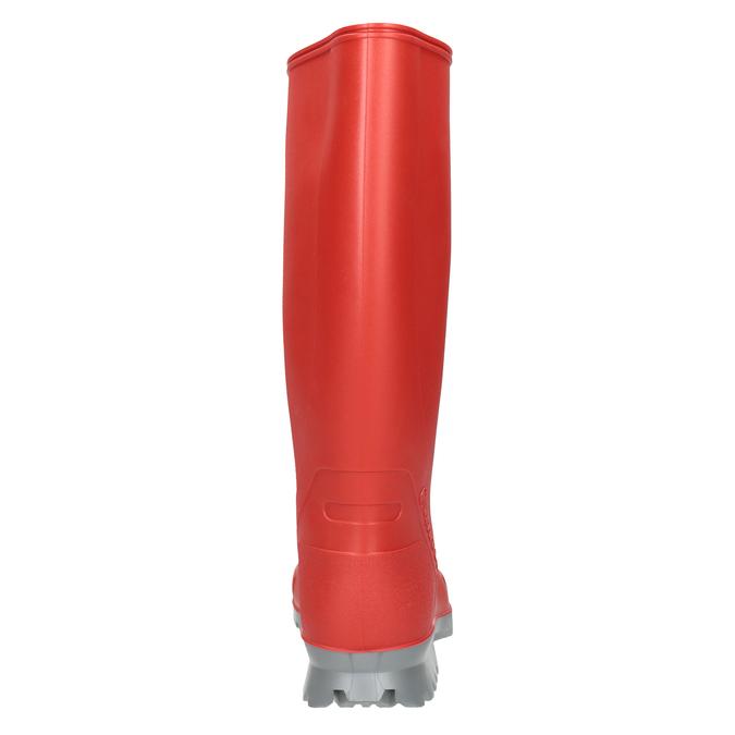 Dámské červené holínky bata, červená, 592-5140 - 16