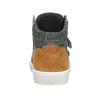 Kožené kotníčkové tenisky mini-b, hnědá, 214-4203 - 16