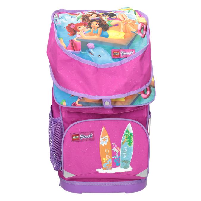 Školní aktovka s pevným dnem lego-bags, růžová, 969-5009 - 17