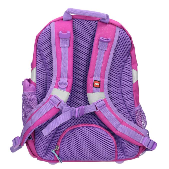 Růžový školní batoh lego-bags, růžová, 969-5020 - 16