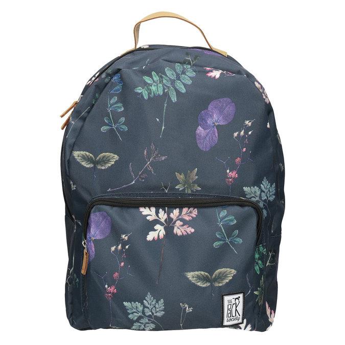 Modrý batoh s potiskem the-pack-society, modrá, 969-9085 - 26