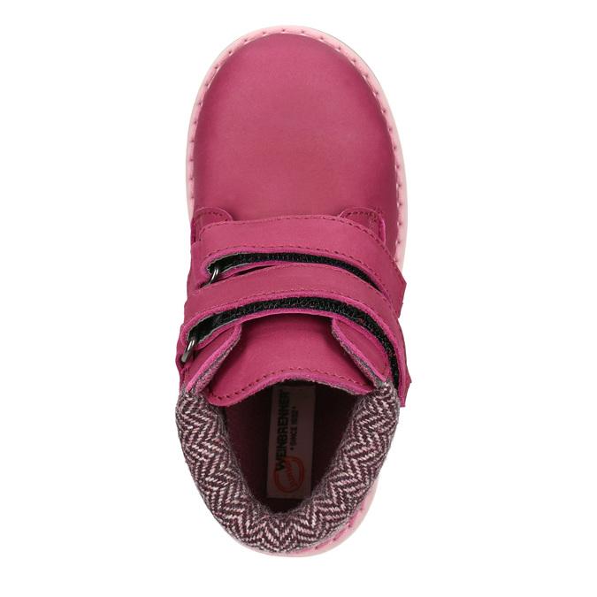Růžová dětská zimní obuv weinbrenner-junior, růžová, 226-5200 - 15