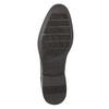 Hnědé kožené Derby polobotky bata, hnědá, 824-4618 - 19