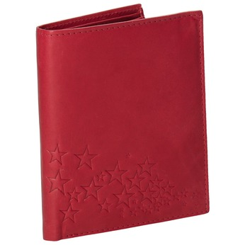 Dámská kožená peněženka bata, červená, 944-5179 - 13