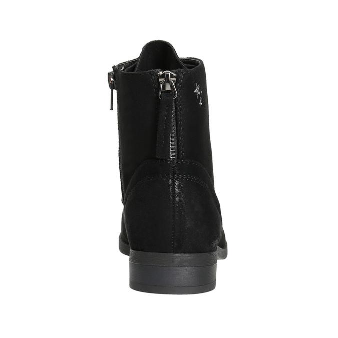 Kotníčková dámská obuv bata, černá, 599-6617 - 17