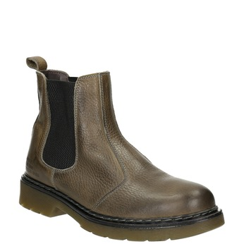Dámská kožená Chelsea obuv bata, hnědá, 596-7680 - 13