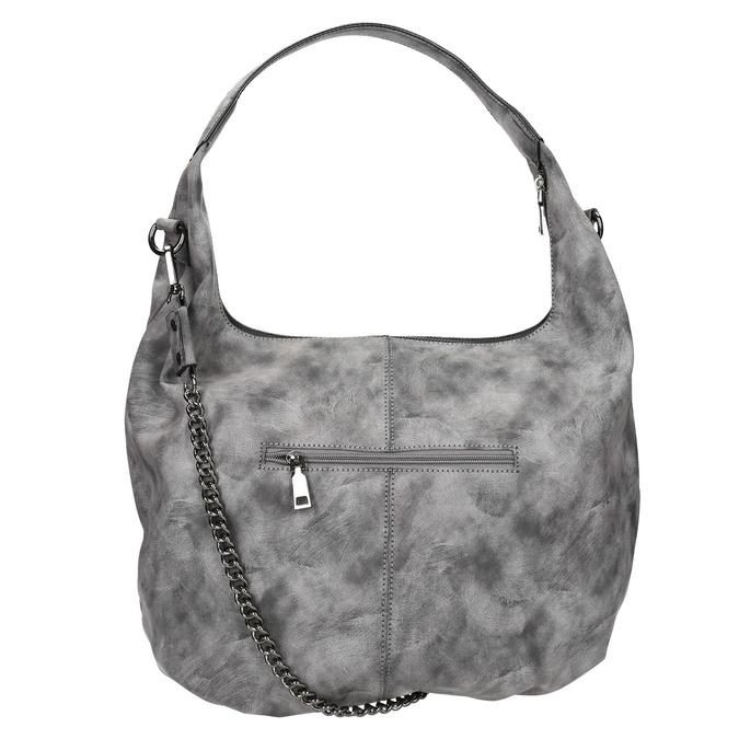 Hobo kabelka s řetízkem bata, šedá, 961-2765 - 26
