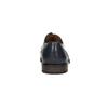 Modré kožené pánské polobotky bata, modrá, 826-9914 - 17
