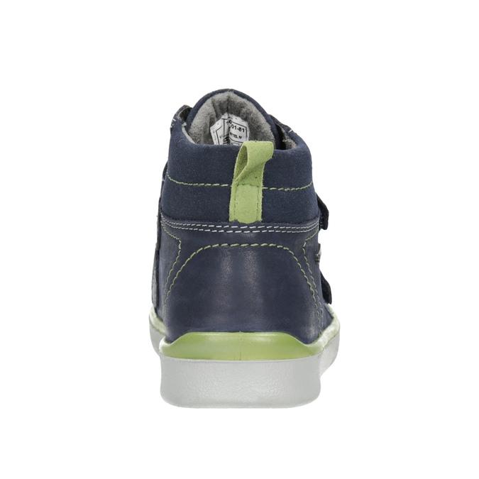 Kožená kotníčková obuv dětská superfit, modrá, 314-9035 - 16