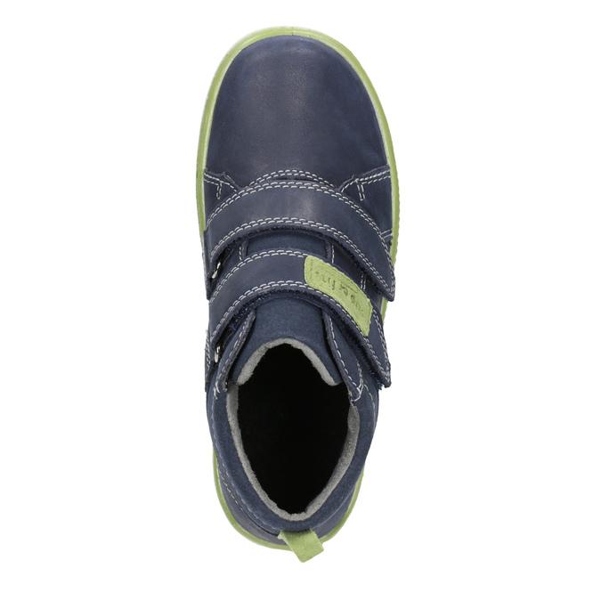 Kožená kotníčková obuv dětská superfit, modrá, 314-9035 - 15