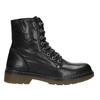 Kožená dámská kotníčková obuv bata, černá, 594-6681 - 26