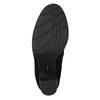 Černé dámské kozačky na podpatku bata, černá, 799-6614 - 19