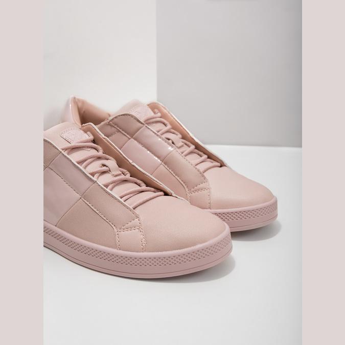 Růžové dámské tenisky, růžová, 501-5171 - 14