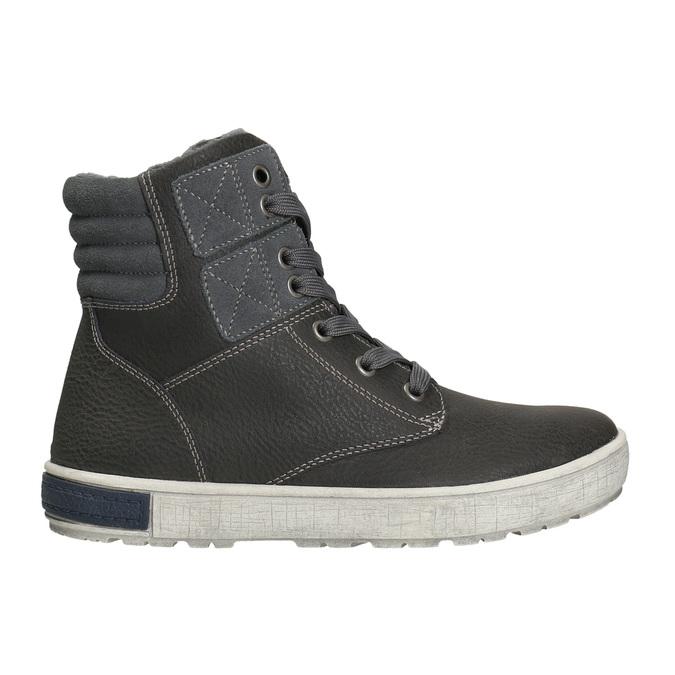 Kotníčková dětská obuv mini-b, šedá, 494-2655 - 15