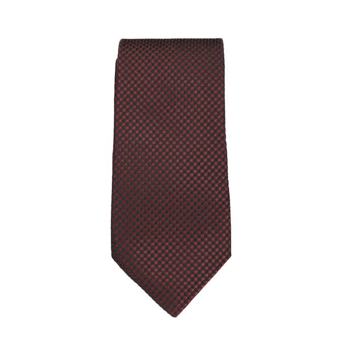 Sada kravaty, kapesníčku a manžetových knoflíčků n-ties, červená, 999-5293 - 26