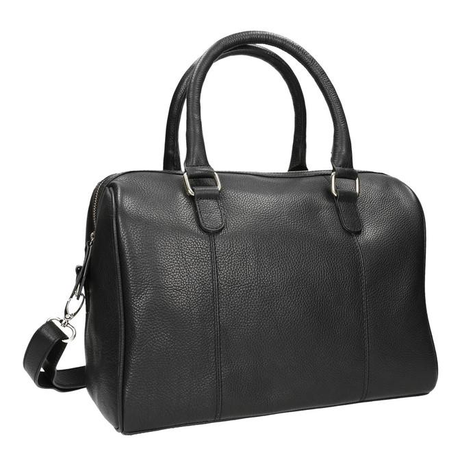 Dámská kožená kabelka bata, černá, 964-6281 - 13