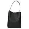 Dámská dvoubarevná kabelka bata, černá, 961-6173 - 17