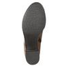 Kotníčková obuv na stabilním podpatku bata, hnědá, 694-4642 - 19