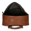 Kožený pánský batoh bata, hnědá, 964-4278 - 15