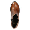 Kotníčková obuv na stabilním podpatku bata, hnědá, 694-4642 - 26
