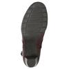 Kotníčková obuv šíře H bata, červená, 696-5625 - 19