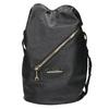 Dámská kabelka s popruhem cafe-noir, černá, 961-6093 - 26