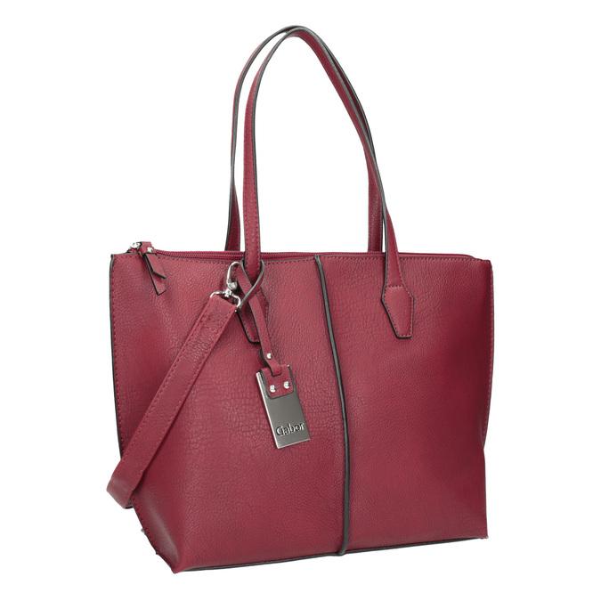 Dámská červená kabelka gabor-bags, červená, 961-5059 - 13