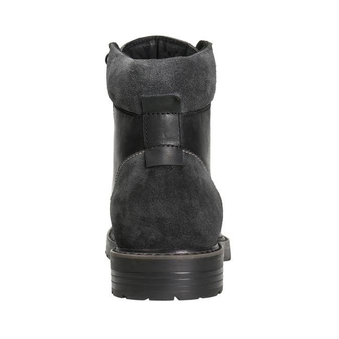 Kožená pánská zimní obuv bata, černá, 894-6689 - 16