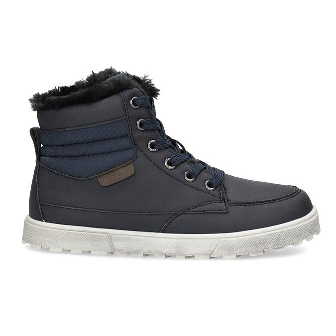 Dětská obuv se zateplením mini-b, modrá, 491-9652 - 19