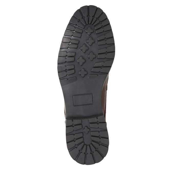 Kotníčková pánská obuv bata, hnědá, 896-4689 - 17