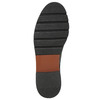 Kožené polobotky na výrazné podešvi bata, černá, 526-6642 - 19