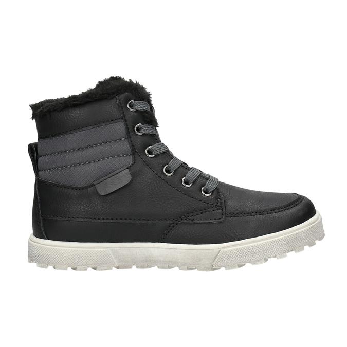 Zimní dětská obuv mini-b, černá, 491-6652 - 15
