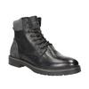 Kožená pánská zimní obuv bata, černá, 894-6689 - 13