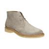 Dámské kožené Desert Boots bata, šedá, 593-2608 - 13