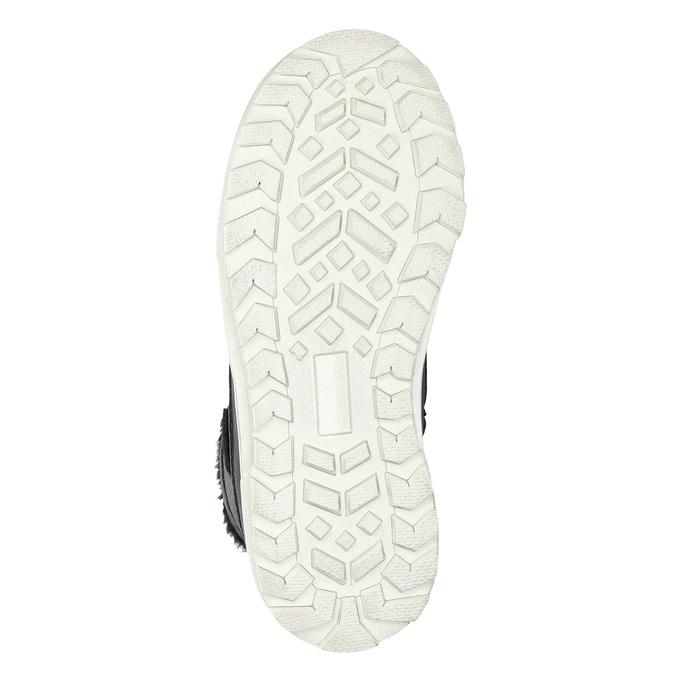 Zimní dětská obuv mini-b, černá, 491-6652 - 19