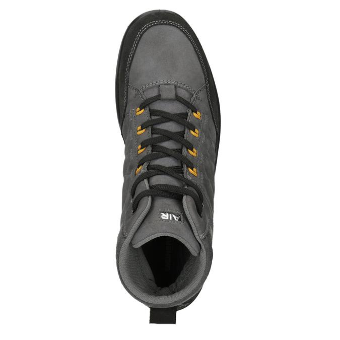 Pánská kožená Outdoor obuv weinbrenner, šedá, 846-2647 - 15
