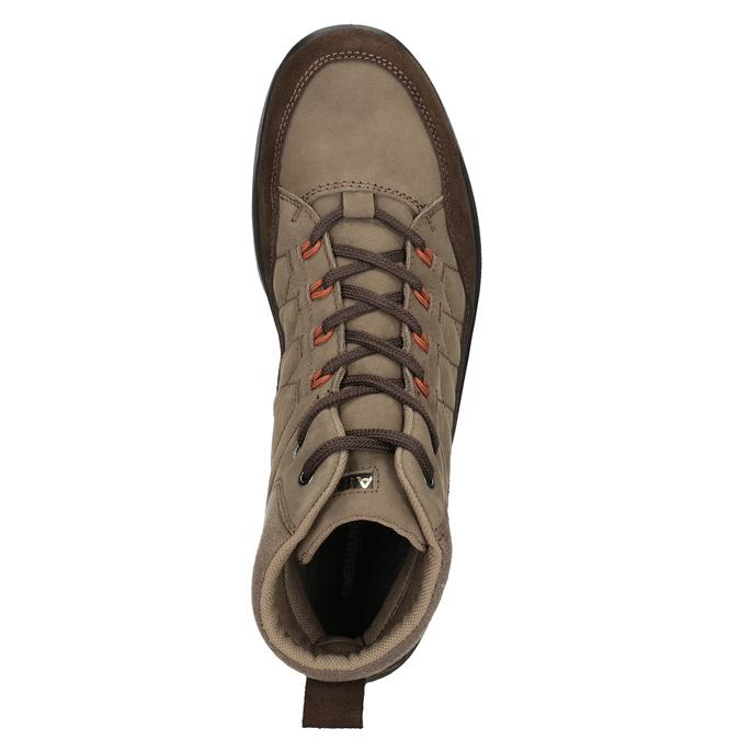 Kožená pánská obuv weinbrenner, hnědá, 846-4647 - 15