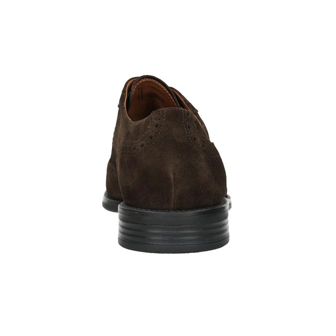Kožené pánské Brogue polobotky vagabond, hnědá, 823-4017 - 16