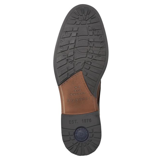 Kožená pánská kotníčková obuv bugatti, hnědá, 826-3005 - 17