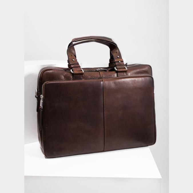 Kožená taška bata, hnědá, 964-4106 - 18