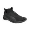 Černé dámské tenisky bez šněrování puma, černá, 509-6200 - 13