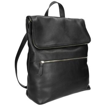 Kožený batoh bata, černá, 964-6279 - 13