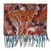 Dámská šála s třásněmi bata, oranžová, 909-8635 - 26