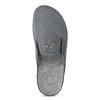 Pánská domácí obuv bata, šedá, 879-2610 - 17