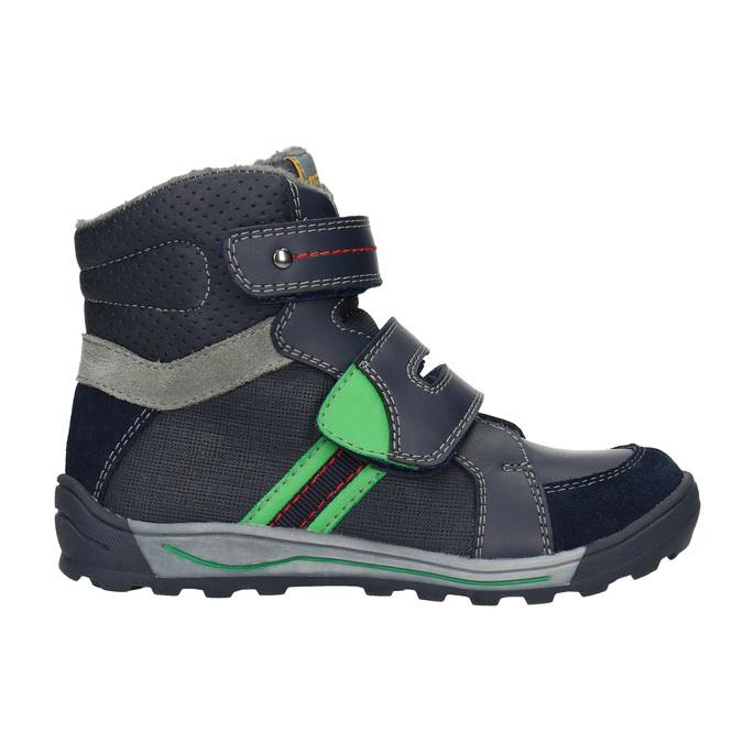 Kotníčková dětská zimní obuv mini-b, modrá, 291-9627 - 26
