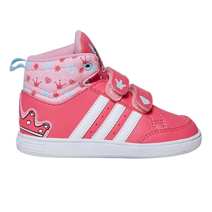 Dívčí kotníčkové tenisky adidas, růžová, 101-5292 - 15