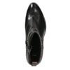 Dámská kotníčková obuv s přezkou bata, černá, 696-6651 - 15