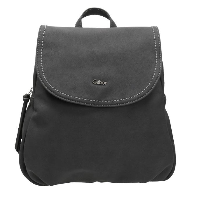 Dámský městský batoh gabor-bags, černá, 961-6025 - 26