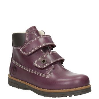 Dětské kotníčkové boty se zateplením primigi, fialová, 324-9012 - 13